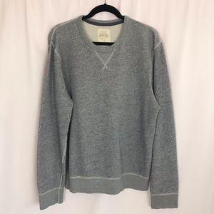 Men's J Crew Vintage Marled Fleece Sweatshirt Sz L